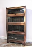 Antique  Mahogany Glazed Solicitors Bookcase (3 of 9)
