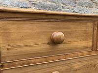 Antique Pine Chest of Drawers (3 of 17)