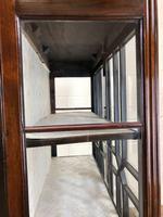 Antique Mahogany Display Cabinet (7 of 8)