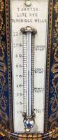Victorian Burr Maple Thermometer & Compass by Thomas Barton (13 of 14)