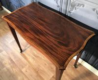 Edwardian Inlaid Mahogany Occasional Table (10 of 13)