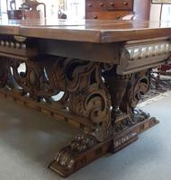 Large impressive Fruitwood Table