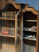 Wonderful French Walnut Bookcase or Cabinet (17 of 25)