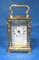 Victorian Miniature Brass Carriage Clock (7 of 11)