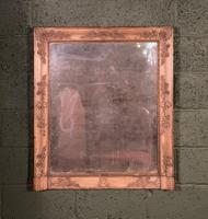 Empire Period Distressed Painted Foxed Plate Mirror (2 of 10)