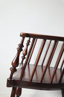 Victorian Scottish Darvel High Comb-backed Windsor Chair, Late 19th Century (21 of 31)