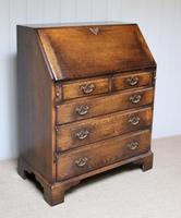 Vintage Oak Bureau (8 of 10)