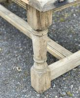Rustic Bleached Oak French Farmhouse Dining Table (5 of 34)