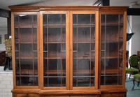 19th Century Victorian Mahogany Breakfront Bookcase (2 of 11)
