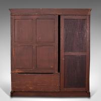 Antique Master Bedroom Wardrobe, Satinwood, Cupboard, Maple & Co, Edwardian (6 of 12)