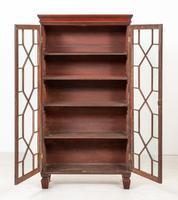 Georgian Style Mahogany Glazed Bookcase (5 of 6)