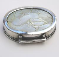 Fine European & Chinese Silver & Mop Carved Novelty Snuff Box 17th/18th Century (7 of 12)