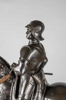 Very Large Stunning 19th Century Equestrian Bronze Sculpture of Bartolomeo Colleoni (4 of 20)