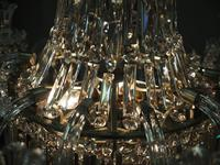 19th Century Crystal Tent & Waterfall Chandelier (16 of 18)