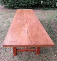 Antique French Elm & Ash Farmhouse Dining Table (2 of 9)