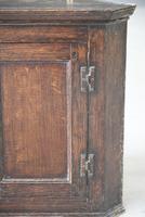 Small Oak Corner Cupboard (2 of 10)