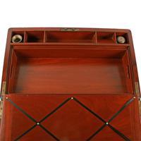 Campaign Style Mahogany Box Desk (6 of 9)