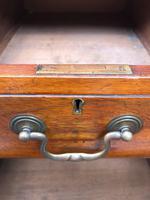 Antique Walnut Pedestal Writing Desk (10 of 13)
