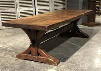 Huge Rustic Chestnut French Farmhouse Dining Table (11 of 27)