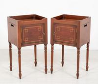 Pair of Regency Style Mahogany Bedside Cabinets (2 of 7)
