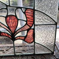 Antique Stained Glass Panel from a London Chapel (8 of 10)