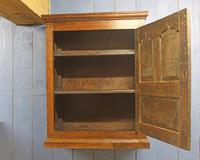 18th Century Oak Hanging Mural Cupboard. North Wales c.1760 (3 of 9)