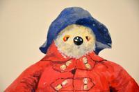 Vintage Paddington Bear Original Watercolour Painting (4 of 8)