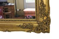 Antique Large Quality 19th Century Gilt Wall Mirror Overmantle (5 of 10)