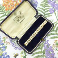 Stunning Vintage Diamond Double Row Bar Brooch 2.5 Carat ~ With Independent Appraisal / Valuation (7 of 11)