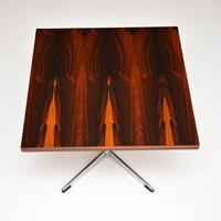 Rosewood & Chrome Vintage Coffee / Side Table by Howard Keith (2 of 6)