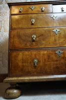 William & Mary Walnut Chest of Drawers (3 of 5)