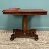 Quality Victorian Mahogany Double Sided, Reading / Music Table (4 of 8)