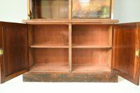 Edwardian Inlaid Rosewood Bookcase (12 of 12)