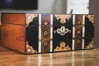 Stunning Inlaid Victorian Jewellery Box (11 of 14)