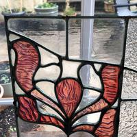 Antique Stained Glass Panel from a London Chapel (10 of 10)