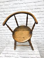 Child's Windsor Armchair with Faux Bamboo Turning (3 of 8)