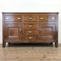 Antique 18th Century Oak Sideboard