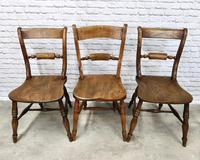 Set of Oxford Barback Windsor Chairs with 2 Carvers (3 of 7)