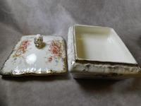 """19th Century S. Fielding & Co """"Sevres"""" Pattern Lidded Dish (4 of 5)"""