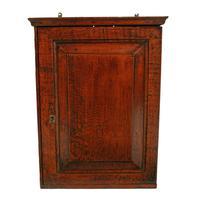 18th Century Oak Spice Cabinet (2 of 6)