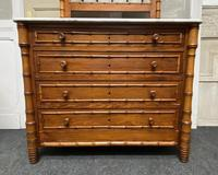 French Faux Bamboo Bedroom Set (4 of 16)