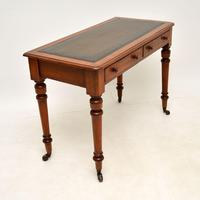 Antique Victorian Mahogany  Writing Table / Desk (8 of 9)