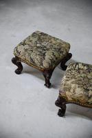 Pair of Antique Victorian Footstools (8 of 11)
