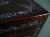 Inlaid Rosewood Jewellery Box c.1845 (6 of 10)