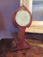 Antique Art Nouveau Inlaid Mantel Clock (6 of 7)