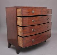 Early 19th Century Georgian Bowfront Chest (4 of 9)