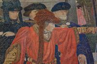 Fresco by Henry Albert Payne for the Palace of Westminster (7 of 10)