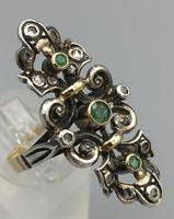 Victorian Emerald and Diamond Ring (5 of 8)