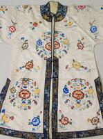 Antique Chinese Silk Embroidered Robe (3 of 9)