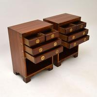 Pair of Military Campaign Style Mahogany Bedside Cabinets (5 of 9)